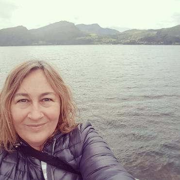 Tracey at Volda, Norway 2017