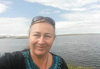 Tracey at Korpúlfsstaðir, Iceland 2016