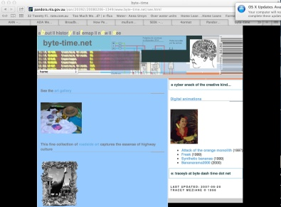 Front page Bytetime 2008