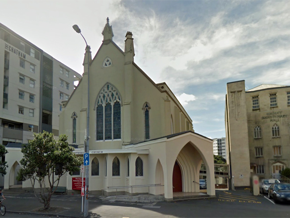 20. Pitt Street Church and School