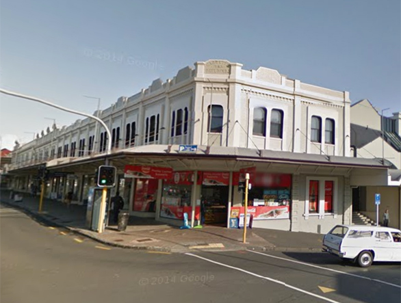 5. Garret's Buildings - 473 Karangahape Rd
