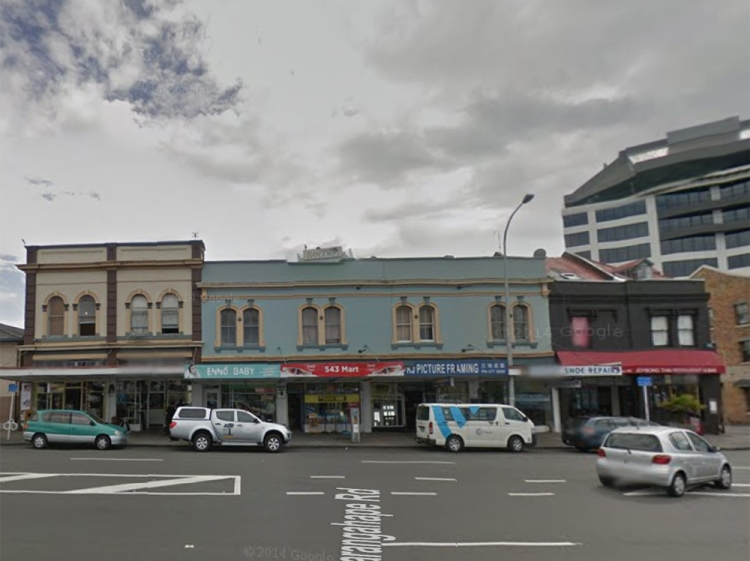 7. Hereford Buildings - 537 Karangahape Rd