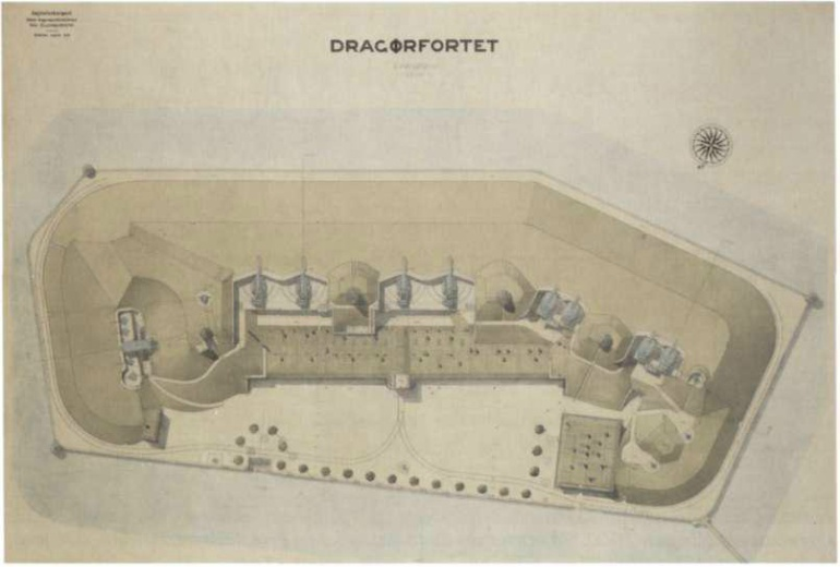 Dragør Fort: Image Credit http://dragorfort.dk/om-fortet/fortets-historie/