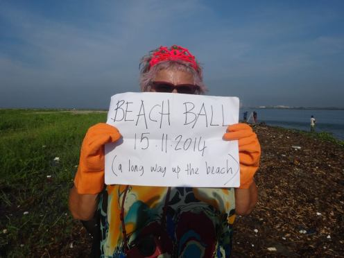 Beach Ball at Kochi, Image from Di Ball's Facebook page