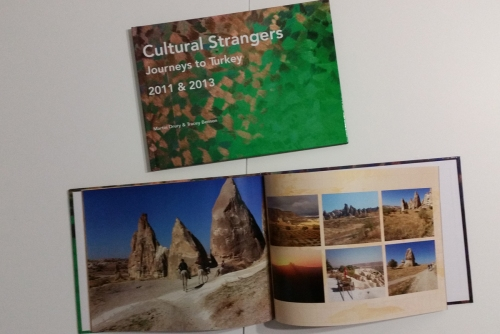 Cultural Strangers book by Tracey Benson and Martin Drury, image © Tracey Benson 2014