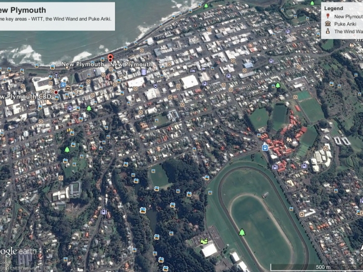 Map of New Plymouth