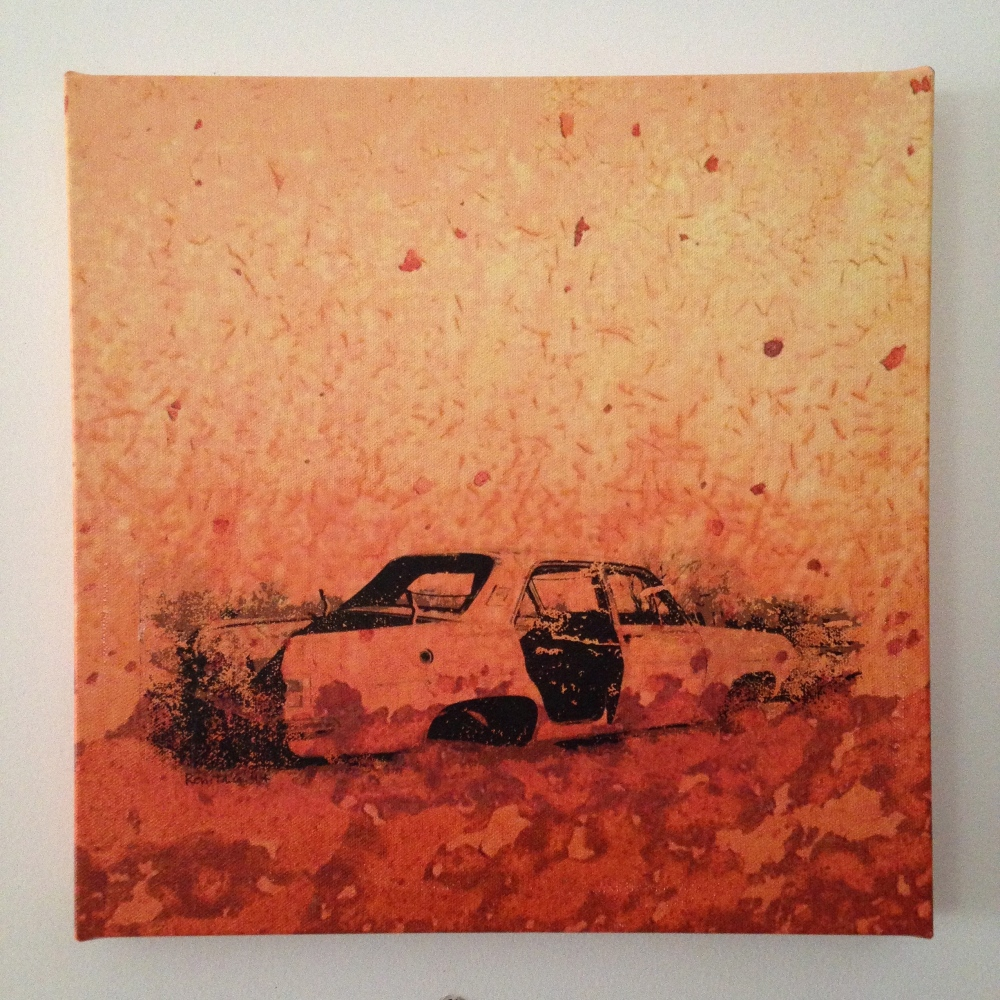 Renita Glencross, Rust & Dust, Mixed Media 2013
