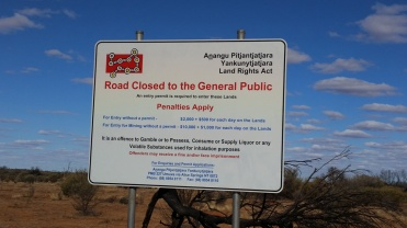 On the APY Lands