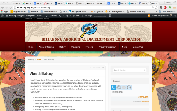 Billabong Aboriginal Development Corporation