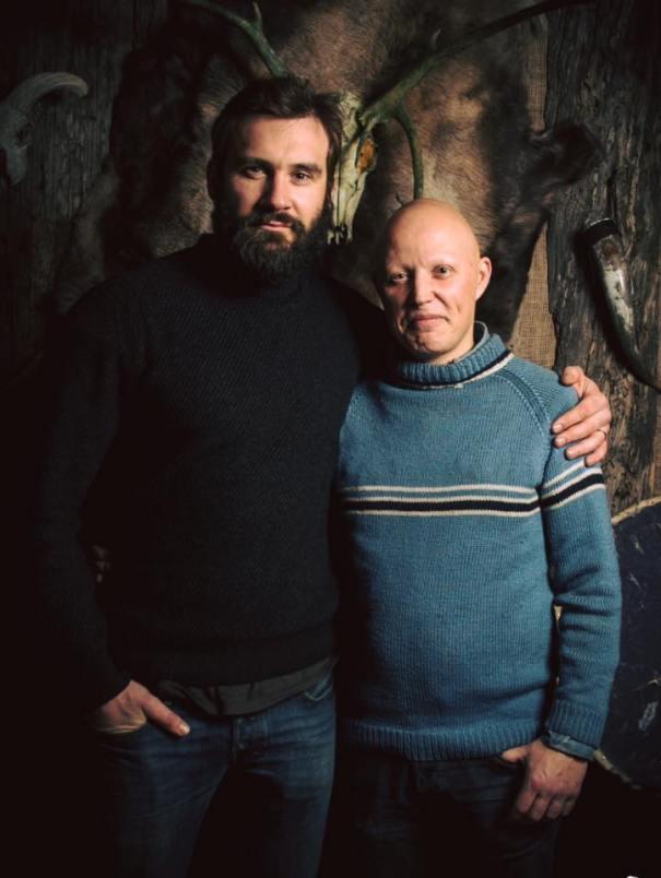 Gudmann with Rollo (Clive Standen)
