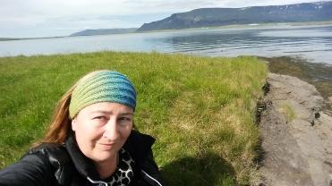 Selfie at Gorvik Beach at Korpúlfsstaðir
