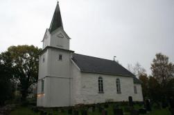 Hurum Church from http://www.kirkesok.no/kirker/Hurum-kirke