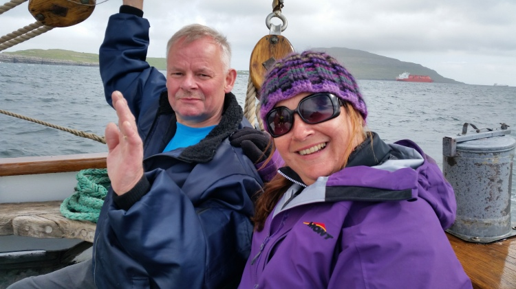 On board the Johanna TG 326, The Clipperton Project, Faroe Islands Expedition, Photo by Martin Drury