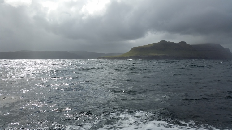 On board the Johanna TG 326, The Clipperton Project, Faroe Islands Expedition, Photo by Tracey Benson