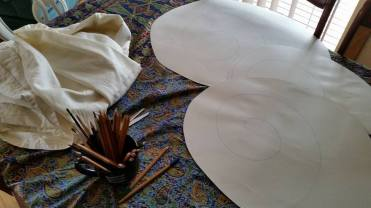 Eco-dyeing preparation. Photo by Tracey Benson
