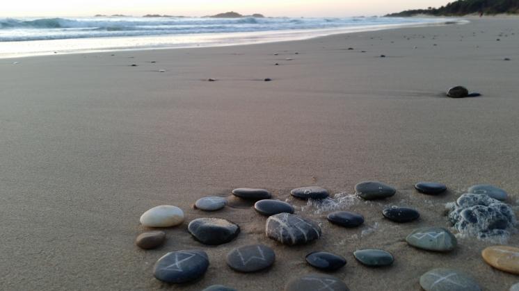 Stone Runes, Sawtell © Tracey Benson 2016