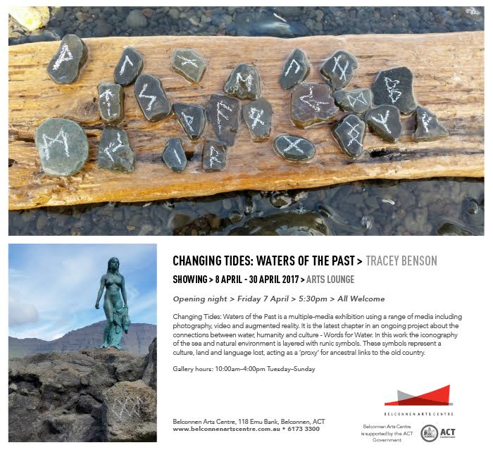 """Invitation to exhibition """"Changing Tides"""""""