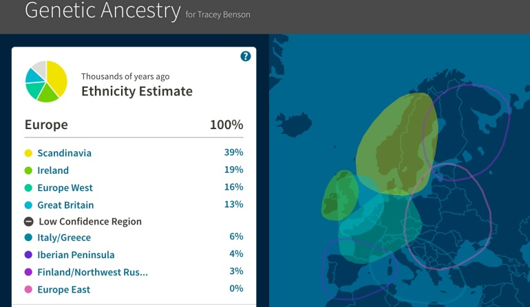 DNA from Ancestry