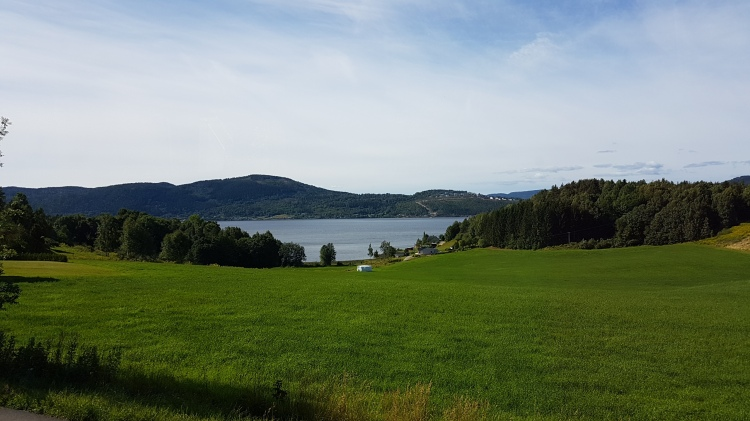 View of the Drammensfjord