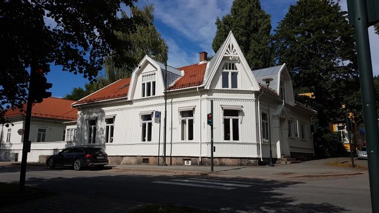 Cute house near the Drammen Theatre