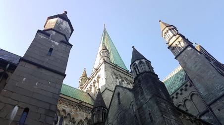 Nidaros Cathedral, Trondheim © Tracey M Benson 2017