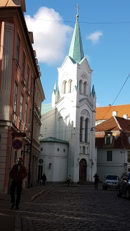 Riga Old City © Tracey M Benson 2017