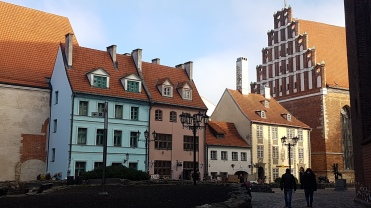 Riga Old City © Tracey M Benson 2017