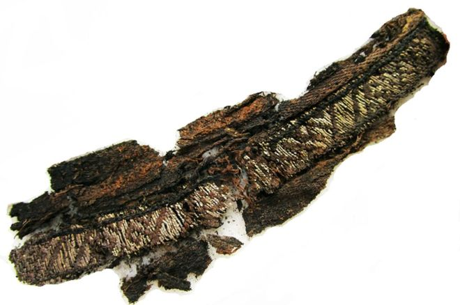 "From ""Why did Vikings have 'Allah' embroidered into funeral clothes?"" http://www.bbc.com/news/world-europe-41567391"