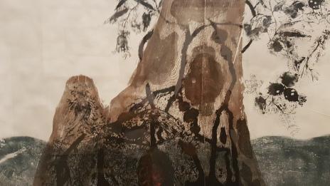 Midawarr | Harvest: The Art of Mulkun Wirrpanda and John Wolseley, photo by Tracey M Benson