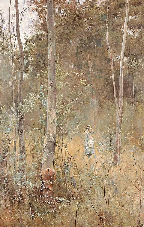 Frederick McCubbin, Lost, 1886