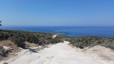 Akamas Nature Reserve - view to the sea
