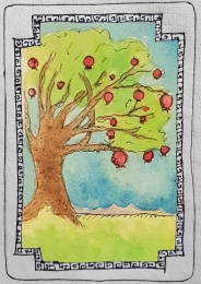 Sacred Trees - Pomegranate