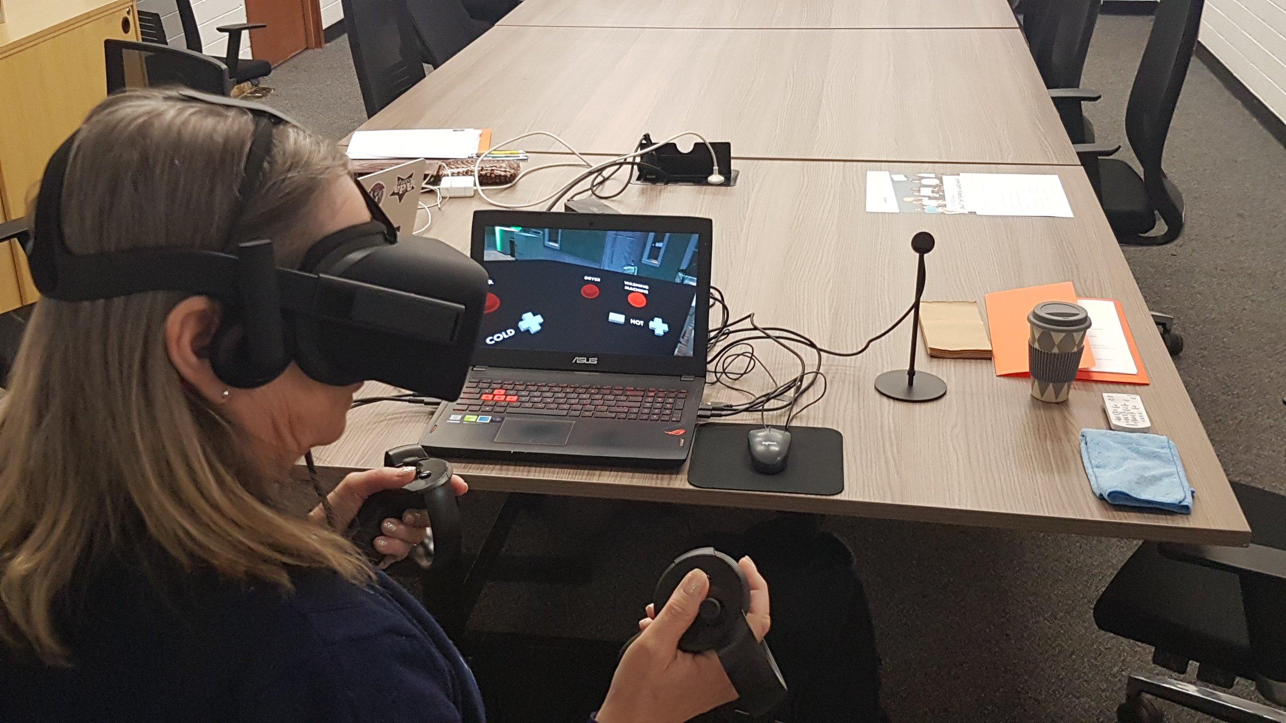 Ignite*Energy VR experience workshop