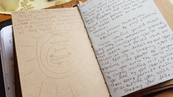 Tracey's note book - looking at the Druid universe