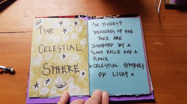 """Tracey's Yggdrasil book for """"The Silence: Puanga"""""""