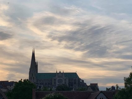 Chartres Cathedral © Tracey M Benson 2019