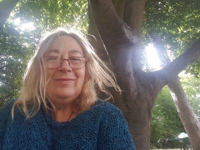 Paris selfie, © Tracey M Benson 2019