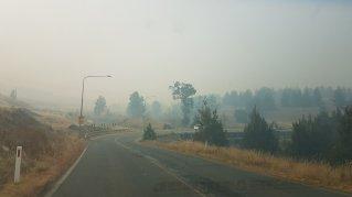 Bushfire smoke © Tracey M Benson 2019