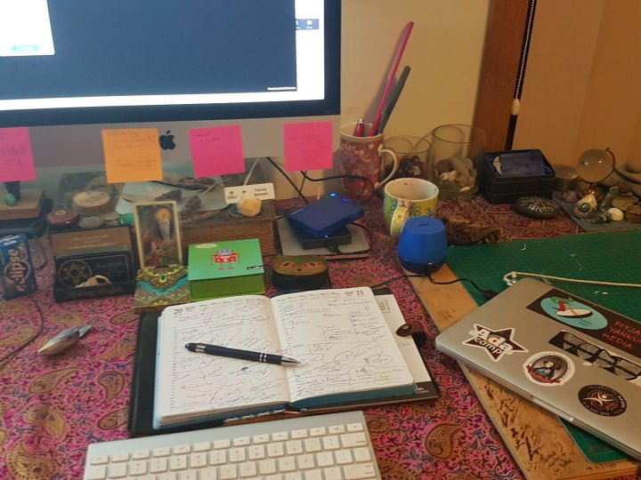 My desk - organised chaos