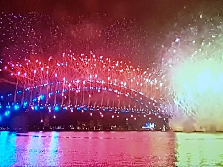NYE Sydney - on TV